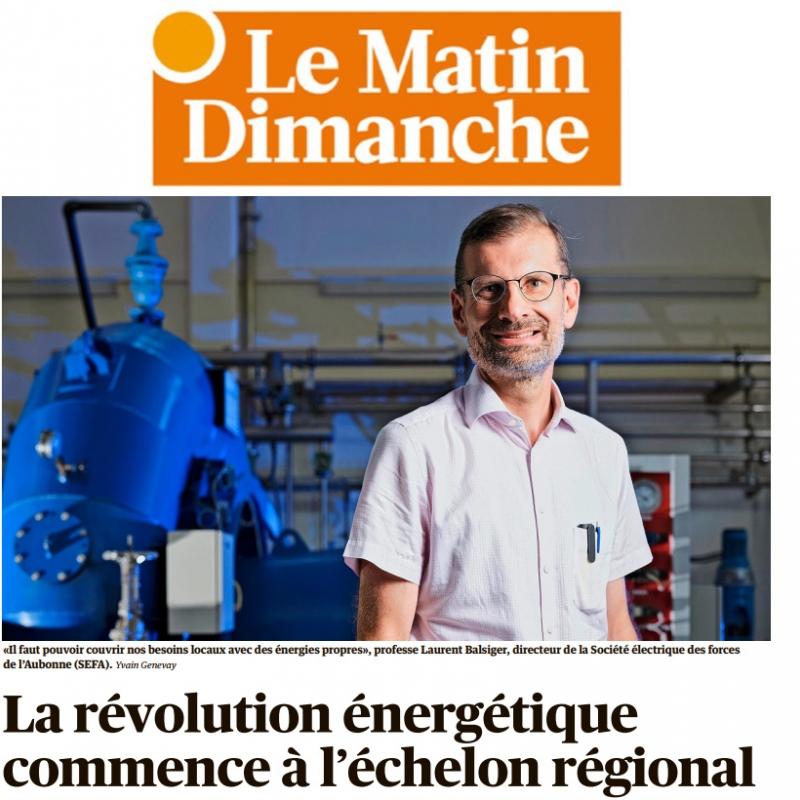 La révolution énergétique commence à l'échelon régional !