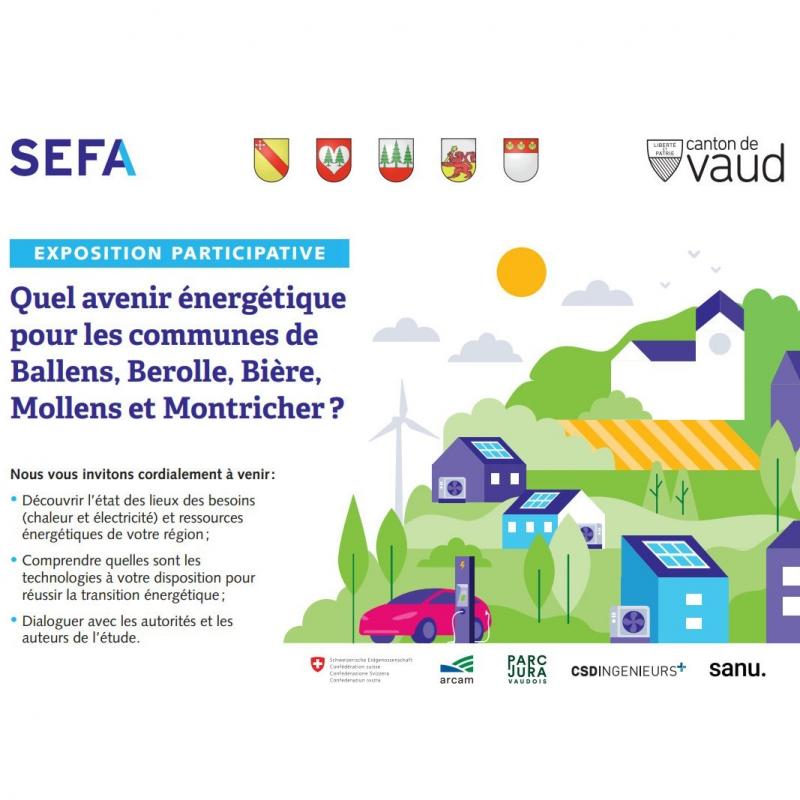 Expositions participatives pour les habitants de Ballens, Berolle, Bière, Mollens et Montricher