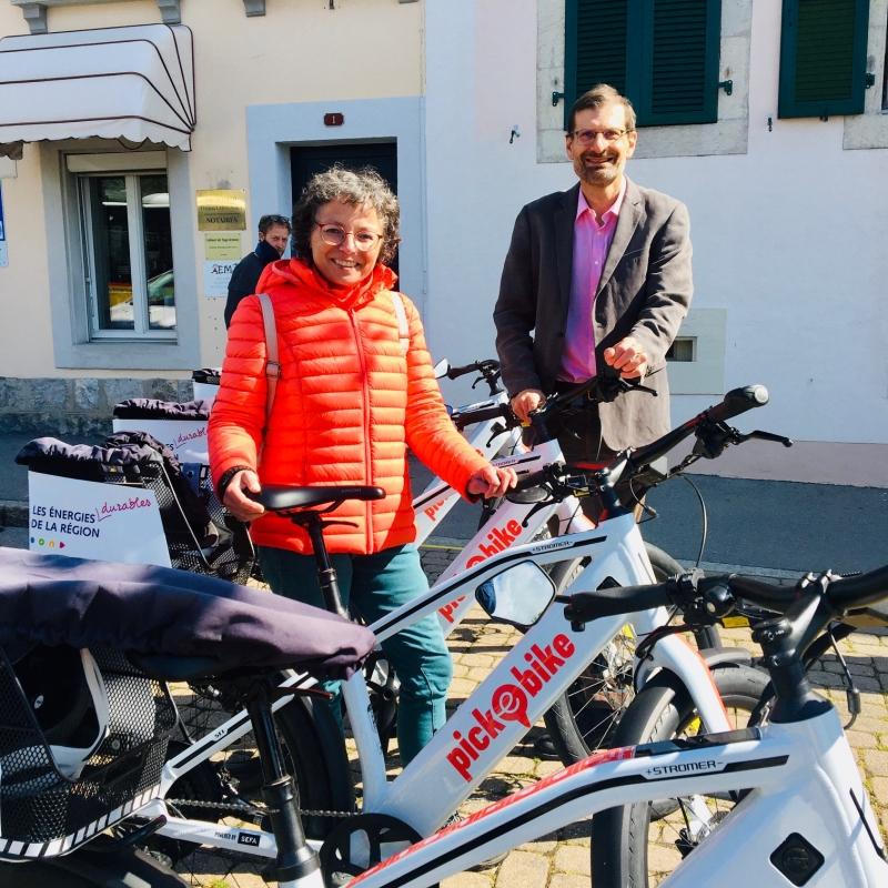 Vélos électriques en libre service